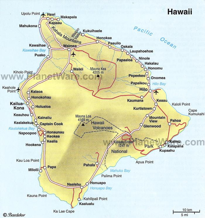 Best Big Cities On The East Coast: Rainbow Falls And Mauna Kea